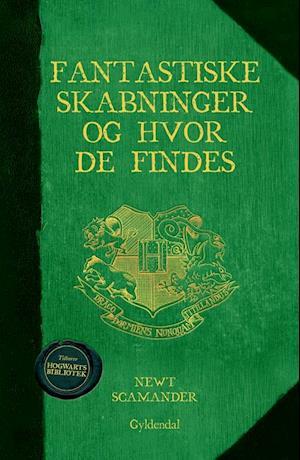 Fa Fantastiske Skabninger Og Hvor De Findes Af J K Rowling Som Indbundet Bog Pa Dansk 9788702179842