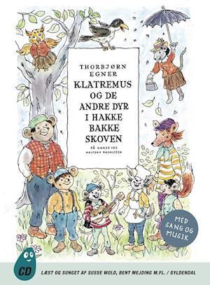 Lydbog, CD Klatremus og de andre dyr i Hakkebakkeskoven af Thorbjørn Egner