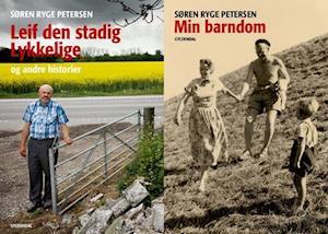Bog indbundet Leif den stadig lykkelige og andre historier - Min barndom af Søren Ryge Petersen