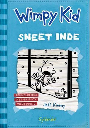 Bog, indbundet Wimpy Kid- Sneet inde af Jeff Kinney