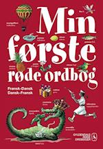 Min første røde ordbog - fransk-dansk, dansk-fransk (Gyldendals røde ordbøger)