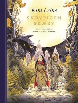 Bog, hæftet Skovpigen Skærv af Kim Leine