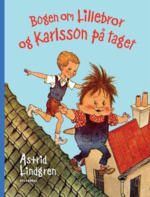 Bog, indbundet Bogen om lillebror og Karlsson på taget af Astrid Lindgren