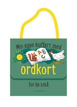Bog, løsblade Min egen kuffert med ordkort for de små af Gitte Heidi Rasmussen