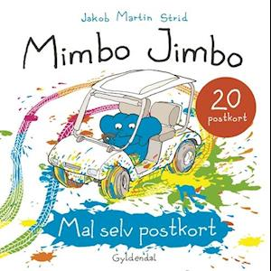 Mimbo Jimbo Mal selv postkort
