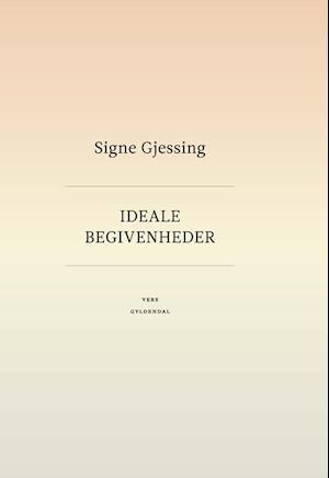 Bog, indbundet Ideale begivenheder af Signe Gjessing