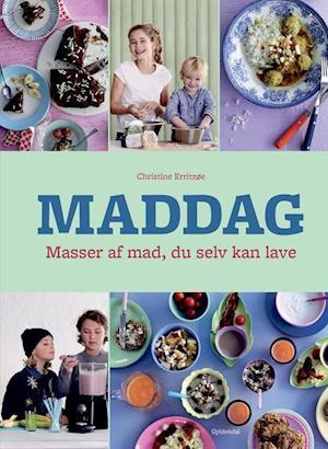 Bog, indbundet Maddag af Christine Erritzøe