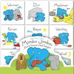 Mimbo Jimbos store kasse med bøger af Jakob Martin Strid