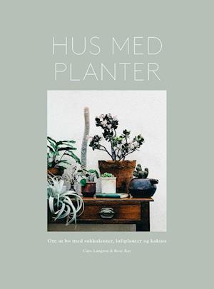 Bog, indbundet Hus med planter af Caro Langton, Rose Ray