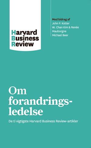 Bog hæftet Om forandringsledelse af harvard Business Review