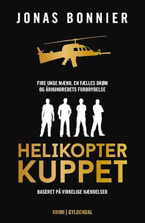 Bog, hæftet Helikopterkuppet af Jonas Bonnier