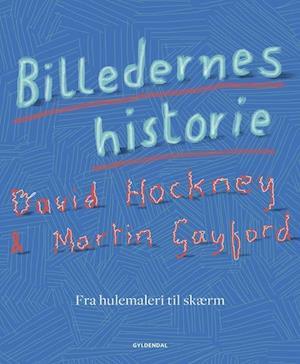 Bog, indbundet Billedernes historie af David Hockney, Martin Gayford