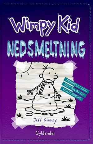 jeff kinney Wimpy kid 13 - nedsmeltning på saxo.com