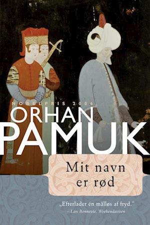 Billede af Mit navn er Rød-Orhan Pamuk-Lydbog