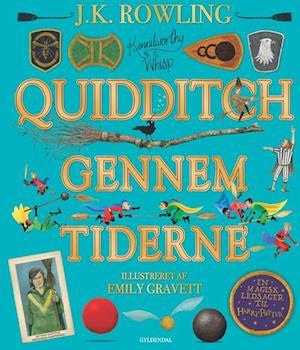 Quidditch gennem tiderne. illustreret udgave-j. k. rowling-bog fra j. k. rowling på saxo.com