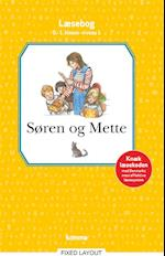 Søren og Mette læsebog  0.-1. kl. Niv. 1 (Søren og Mette)