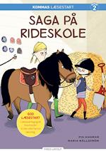 Kommas læsestart: Saga på rideskole - niveau 2 (De små stribede)