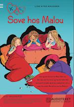 K for Klara 4: Sove hos Malou (K for Klara, nr. 4)