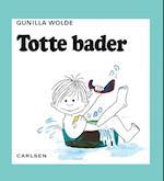 Totte bader (2) (Lotte og Totte)