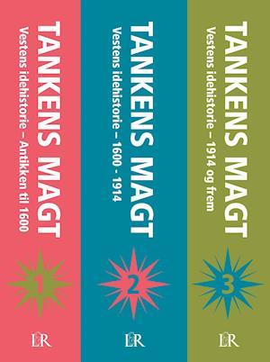 Bog, indbundet Tankens magt, 1 sæt bind 1-3, hc. af Hans Siggaard Jensen, Frederik Stjernfelt, Ole Knudsen