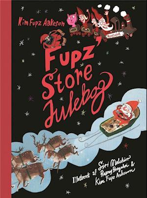 Bog, indbundet Fupz' store julebog af Kim Fupz Aakeson