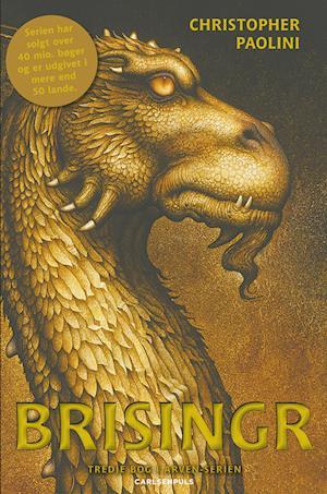 Bog hæftet Brisingr. eller Eragon skyggedræbers og Saphira Bjartskulars syv løfter af Christopher Paolini