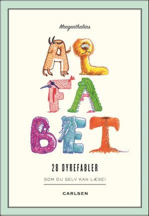 Bog indbundet Morgenthalers ALFABET: 28 dyrefabler som du selv kan læse af Anders Morgenthaler