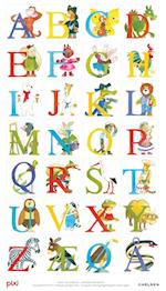 Pixi-alfabet - plakat