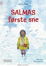 Salmas første sne (Carlsens stribede)
