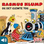 Rasmus Klump og det glemte tog (Lyt & Læs)