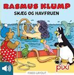 Rasmus Klump Skæg og Havfruen (Lyt & Læs)
