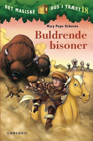 Billede af Buldrende bisoner-Mary Pope Osborne-Bog
