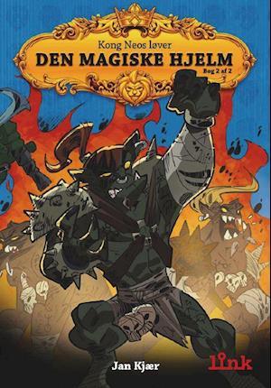 Bog, hæftet Den magiske hjelm af Jan Kjær