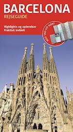 Barcelona (Rejseguide med kort)