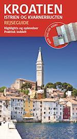Kroatien - Istrien og Kvarnerbugten (Rejseguide med kort)