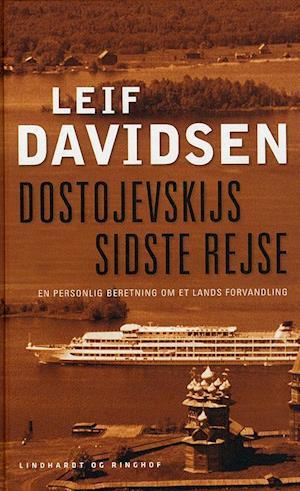 Bog hardback Dostojevskijs sidste rejse af Leif Davidsen