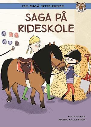 Bog indbundet Saga på rideskole af Pia Hagmar