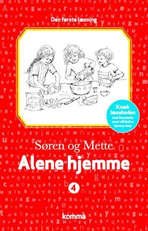 Bog hardback Alene hjemme af Knud Hermansen