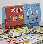 38 pixibøger af Jan Mogensen