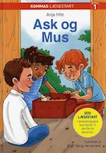 Kommas læsestart: Ask og Mus - niveau 1 af Anja Hitz
