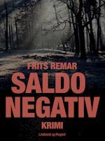 Saldo negativ af Frits Remar