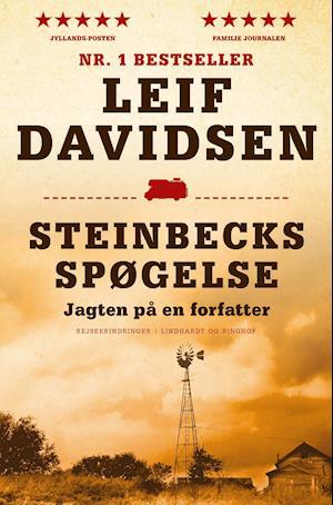 Bog paperback Steinbecks spøgelse - jagten på en forfatter pb. af Leif Davidsen