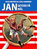 Jan skyder på mål af Knud Meister, Carlo Andersen