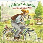 Peddersen familiekalender 2017 af Sven Nordqvist