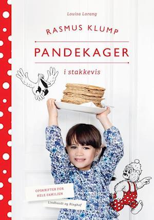 Bog, indbundet Rasmus Klump pandekager i stakkevis af Louisa Lorang