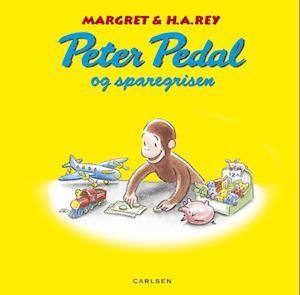 Bog, indbundet Peter Pedal og sparegrisen af H. A. Rey, Margret Rey