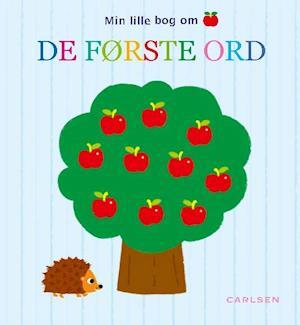 Bog indbundet Min lille bog om de første ord