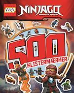 LEGO Ninjago: 500 klistermærker - Aktivitets- og klistermærkebog (LEGO)