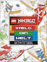LEGO Ninjago: Vælg din helt! - Aktivitetsbog (LEGO)