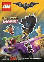LEGO Batman: Klar, parat, angrib! - Aktivitetsbog med 200 flytbare klistermærker (LEGO)